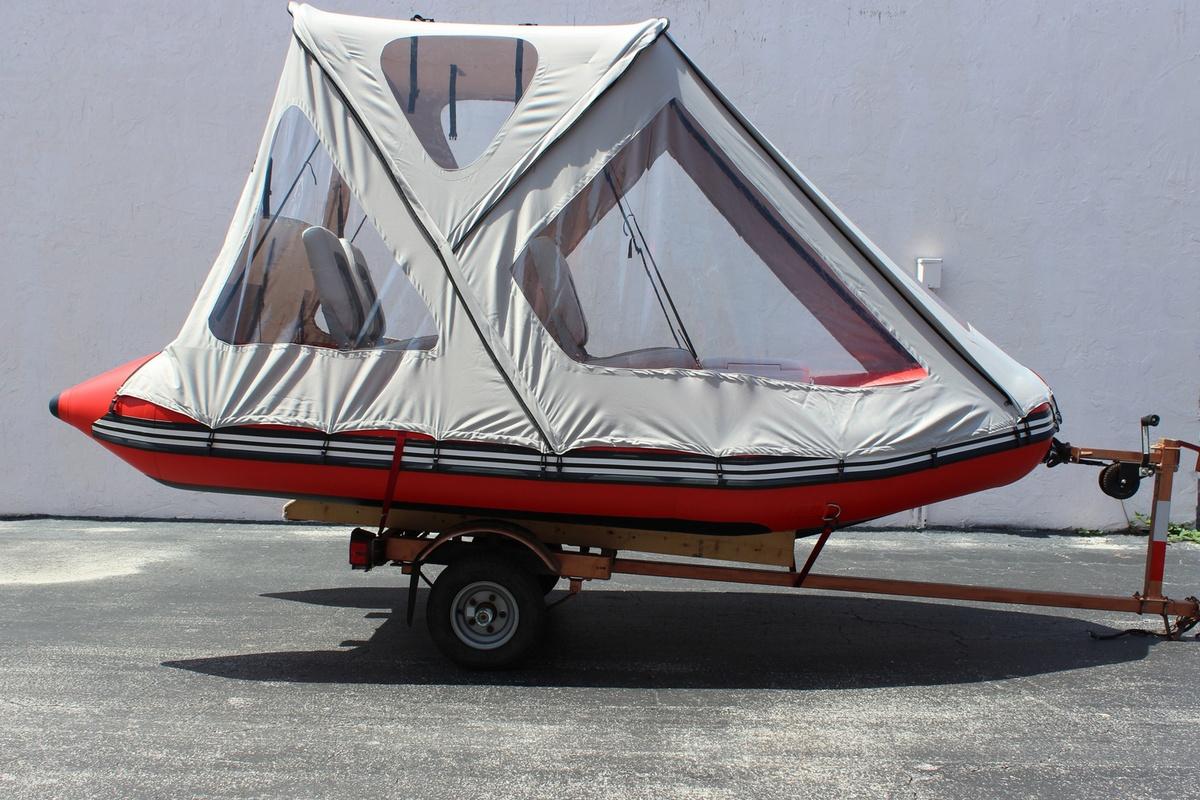 Inflatable Boat: Inflatable Boat Bimini Top