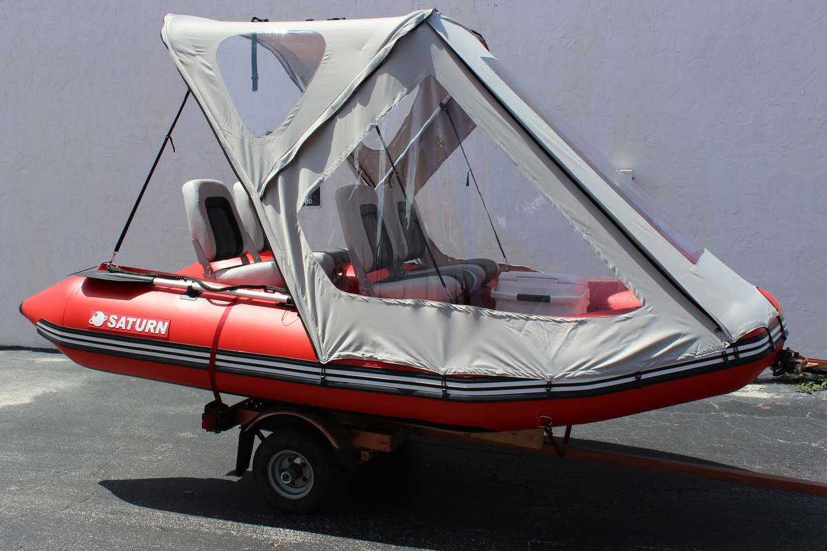 For 12 Inflatable Boat Sun Canopy Bimini Top Private Cabin Dome & Diy Inflatable Boat Canopy - Diy (Do It Your Self)