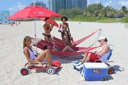 Folding Beach Hammocks - Standard and XL Version