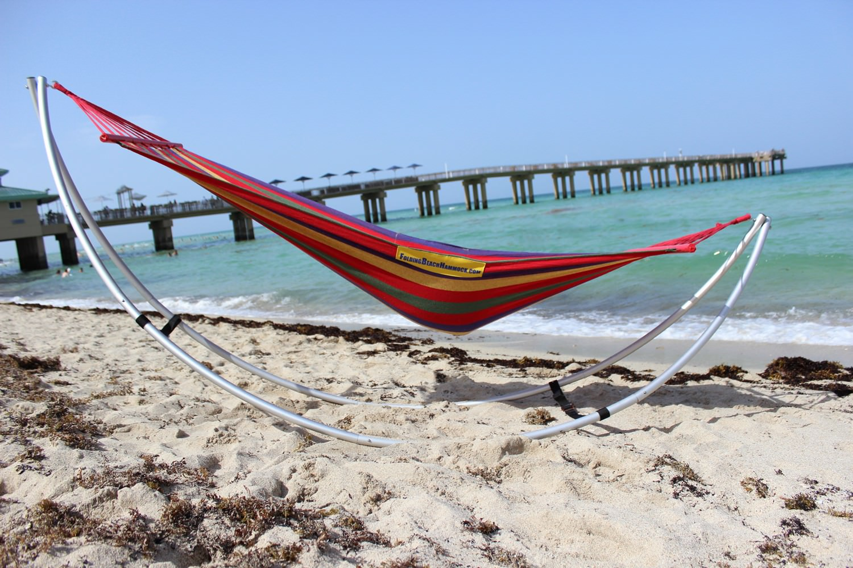 Folding Beach Hammock Portable Travel Hammock