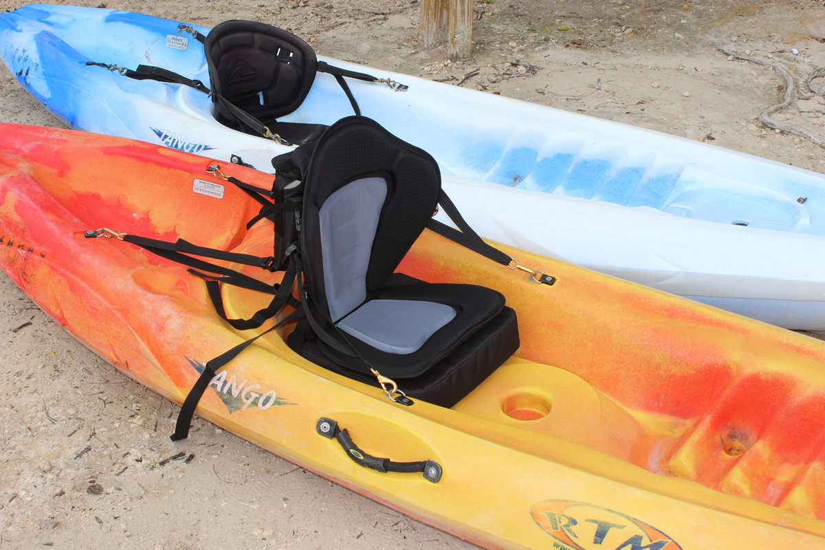 18 tall sport deluxe molded foam kayak seat fishing pack for 2 seater fishing kayak