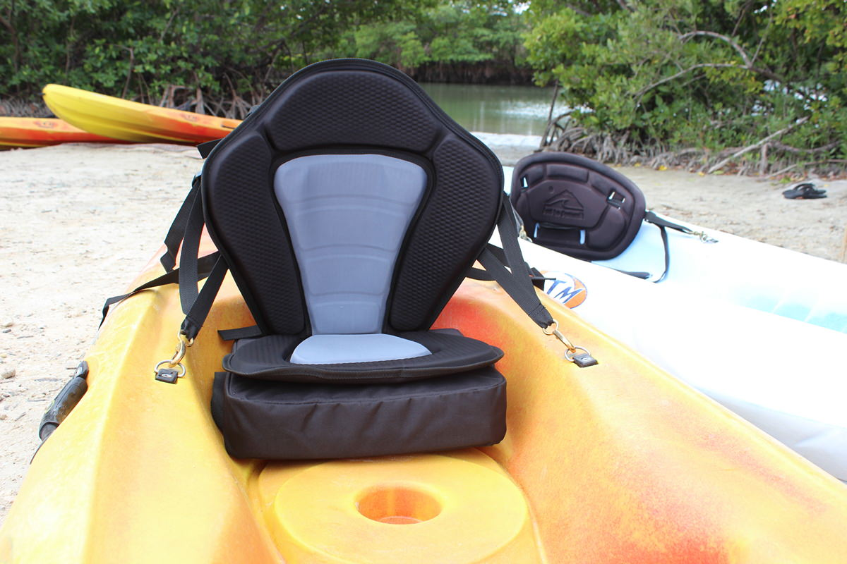 Deluxe kayak fishing seats only 49 detachable fishing pack for Kayak fishing seats