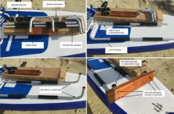 Manual for Motor Mount Installation on Inflatable Paddle Board SUP. Click to zoom in.
