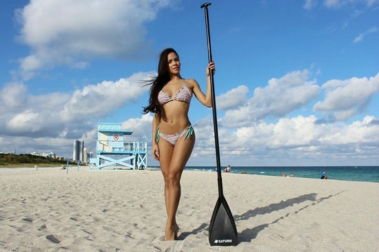 Saturn Transformer SUP Paddle for stand up paddle boards.