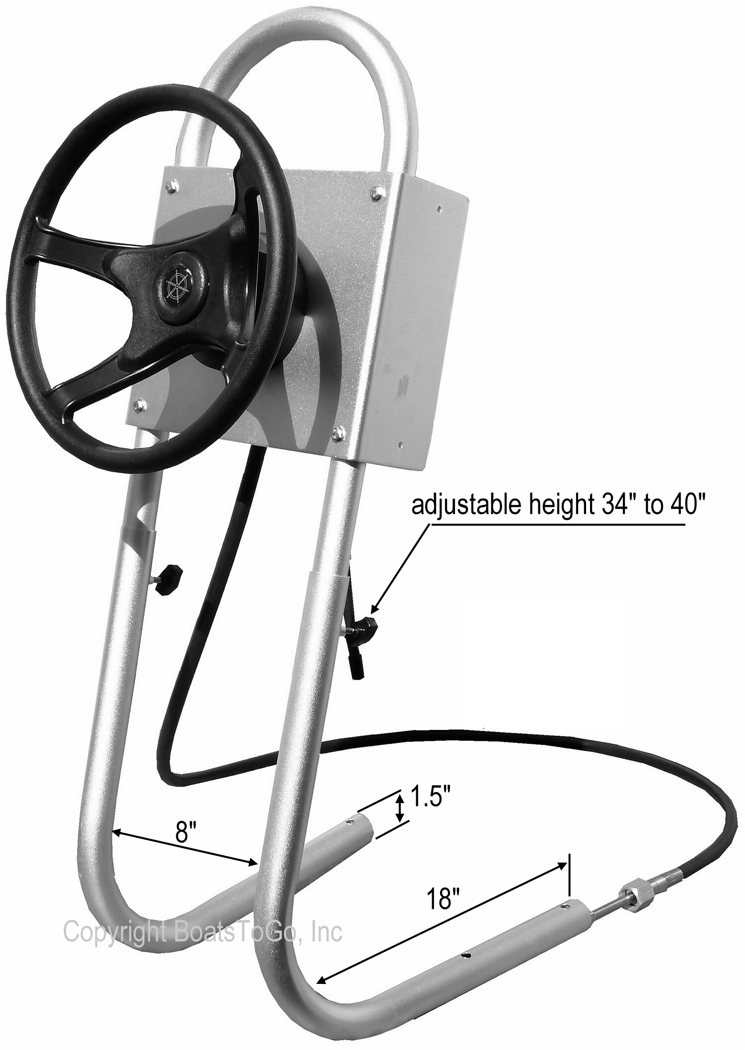 Central Console System For Inflatable Boats Ribs Jon Boats