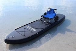 Beach Cart can also be used as a kayak seat for SUP paddle board.