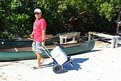 3-in-1: Kayak Cart, Beach Chair and Hand Cart. Click on image to zoom in.
