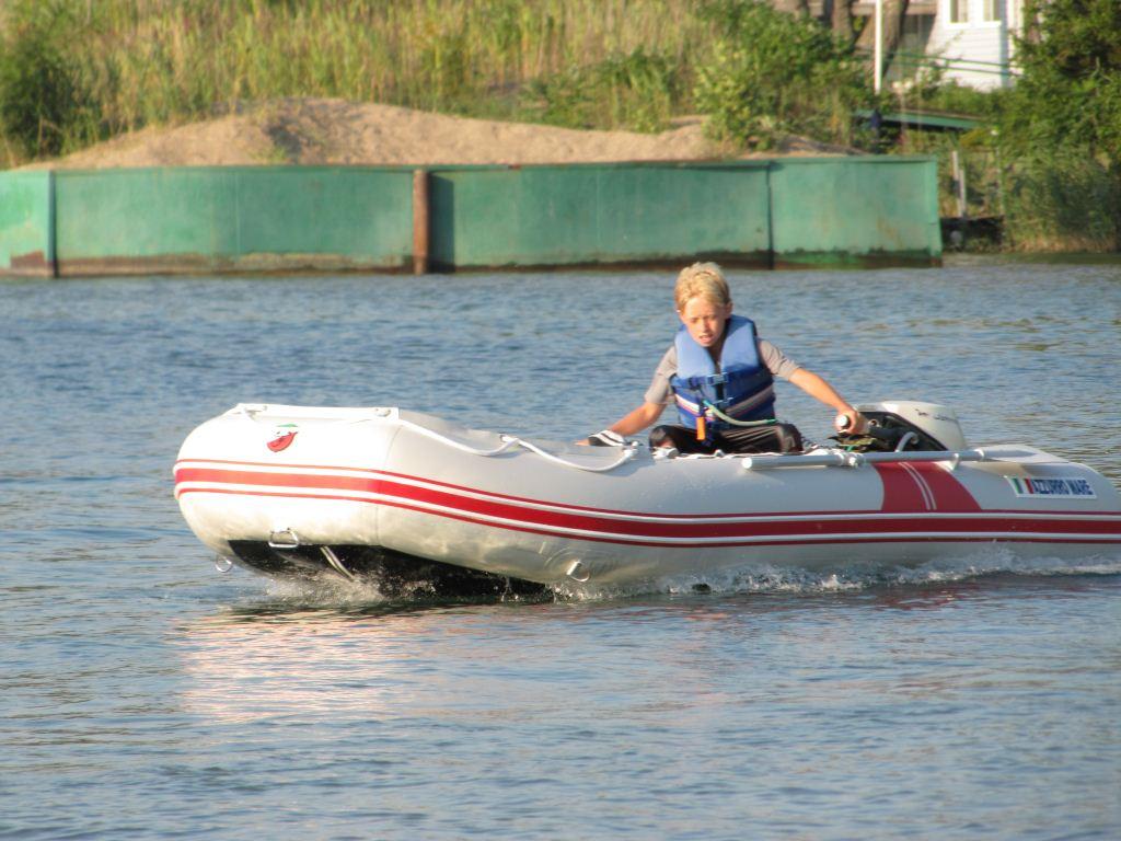 12 39 Am365 Azzurro Mare Inflatable Motor Boats Italian