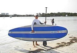 Foldable SUP paddle.  Click on picture to zoom in.