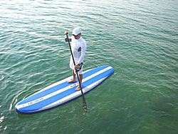 Travel SUP paddle.  Click on picture to zoom in.