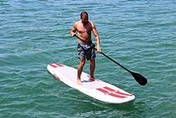Saturn 11' Inflatable Paddle Board SUP. Click on image to zoom in.