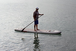Saturn 12' SUP365 Inflatable SUP paddle board. Click to zoom in.