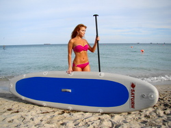 One of first Saturn inflatable paddle boards. Click on image to zoom in.