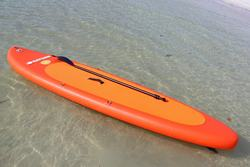 Saturn Florida Orange Inflatable Stand Up Paddle Boards.