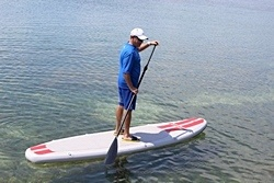 Stand Up paddling Saturn SOT330 inflatable SUP