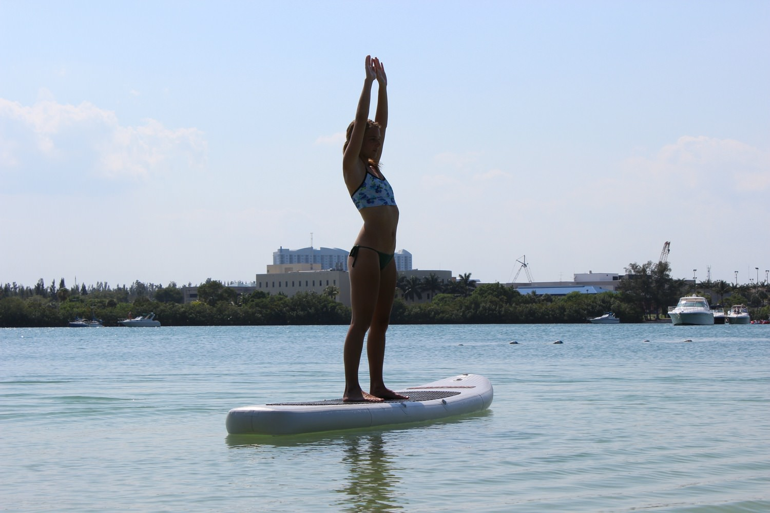 SUP for Yoga exercise