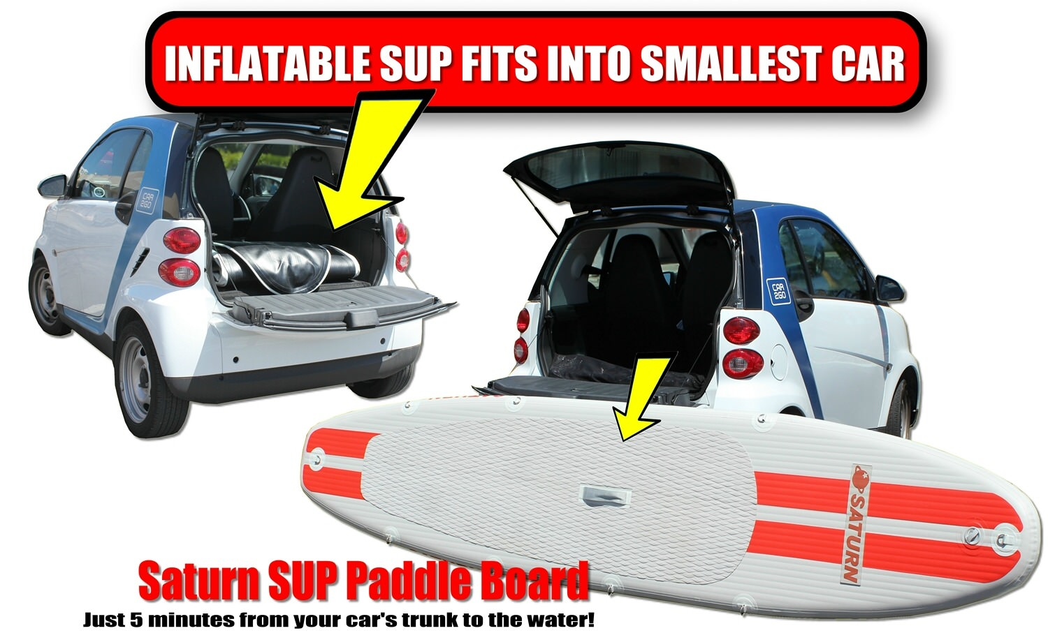 Inflatable Sup Fit Into Small