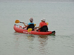 Saturn Inflatable Kayaks BK365. Lighting Fast! Click on image to enlarge.