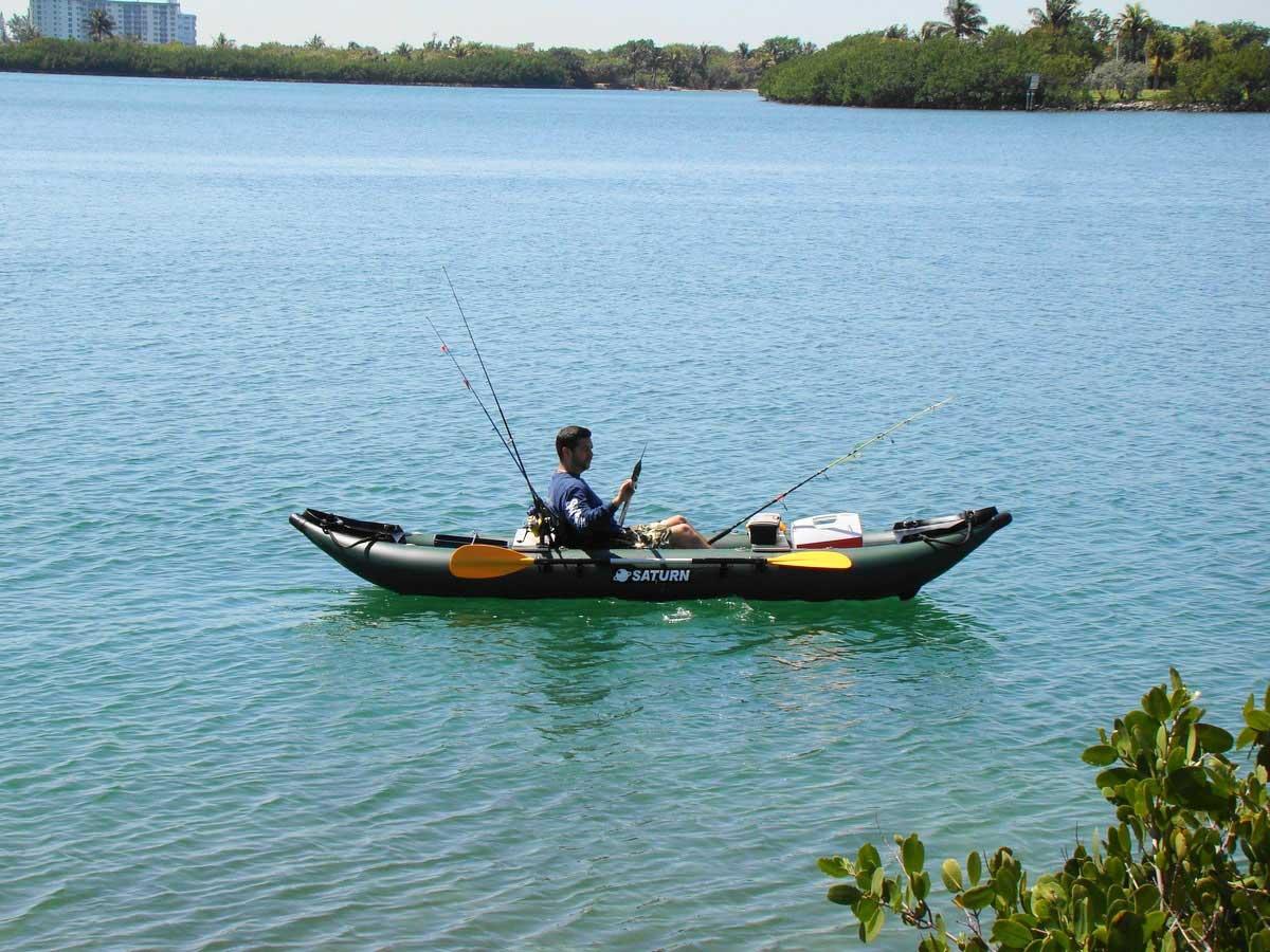 Saturn 13 Fk396 Pro Angler Series Inflatable Fishing Kayaks