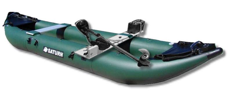 13ft Saturn Pro Angler Inflatable Fishing Kayak Fk396 Ebay