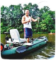 Customer's picture of Saturn FK396 Fishing Kayak