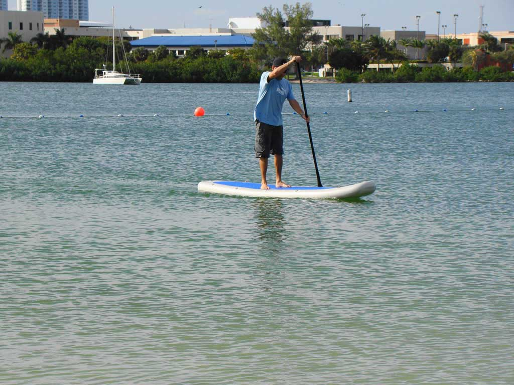 New 11 Inflatable Stand Up Paddleboard Sup Paddleboard Ebay