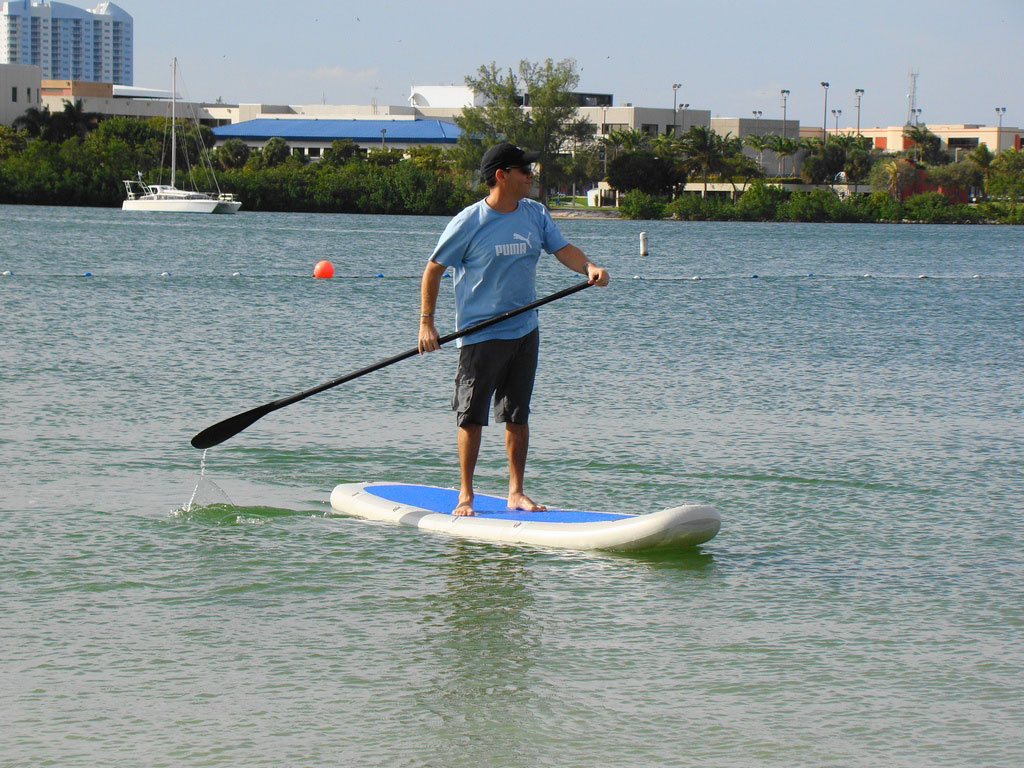 11ft Saturn Inflatable Stand Up Paddle Board Kayak Sot330