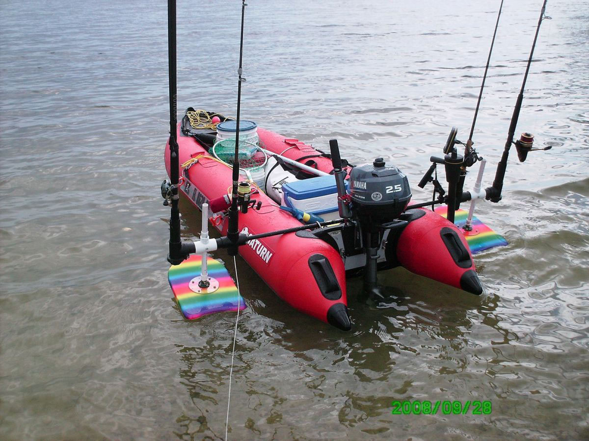 Inflatable kayaks inflatable boats kaboats inflatable for Inflatable fishing boats