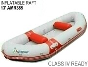 Whitewater Inflatable Rafts