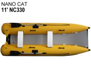 11' Inflatable Mini Catamaran