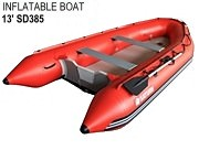 Fishing Inflatable Boats with hard floor SD385