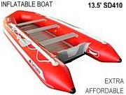 RED 13.5 Affordable Inflatable Boat