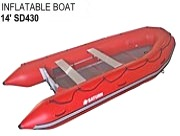 Diving And Rescue Inflatable Boats SD430