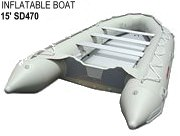 Heavy-Duty Inflatable Boats SD470