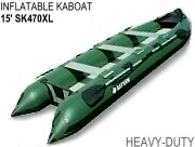 15' Extra Heavy-Duty Inflatable Expedition Crossover KaBoat SK470XL