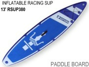 13' Inflatable Touring Speed Paddle Board SUP