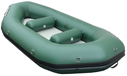 Saturn Inflatable River Raft RD290 Green. Click to zoom in.