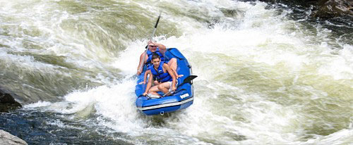 whitewater white water fast river kayak class 4 river run