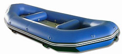 13' Class IV RD390 8-persons Heavy-Duty Whitewater River Raft. Click for more information.