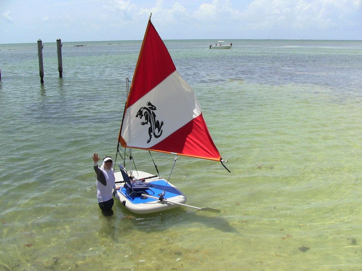 New DIY Boat: Cool Catamaran tender plans