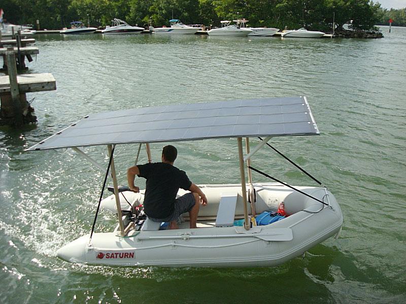 Лодка на электромоторе своими руками