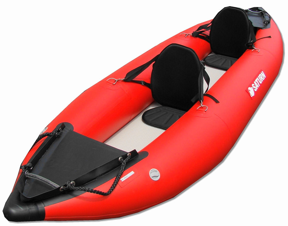 Saturn Heavy Duty Expedition Inflatable Kayaks Rk396