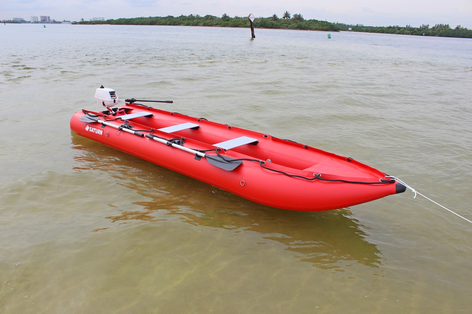 15 39 inflatable kayak inflatable boat crossover kaboat for Outboard motor for canoe
