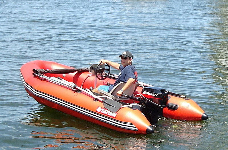 Central Console System For Inflatable Boats, RIBs, Jon Boats.