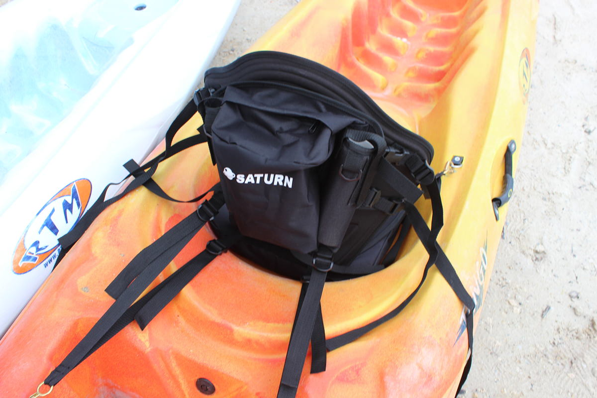 Deluxe fishing kayak seat with removable cushion for Kayak fishing seats
