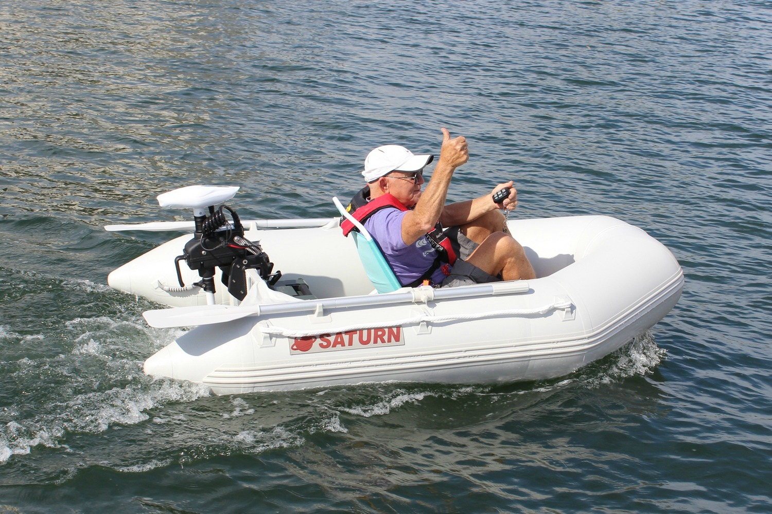 Remote Controlled 55lbs 12v Electric Trolling Motor