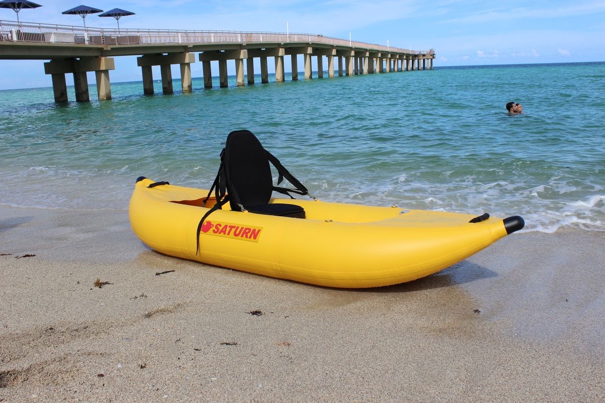 Smallest Inflatable Kayak In The World