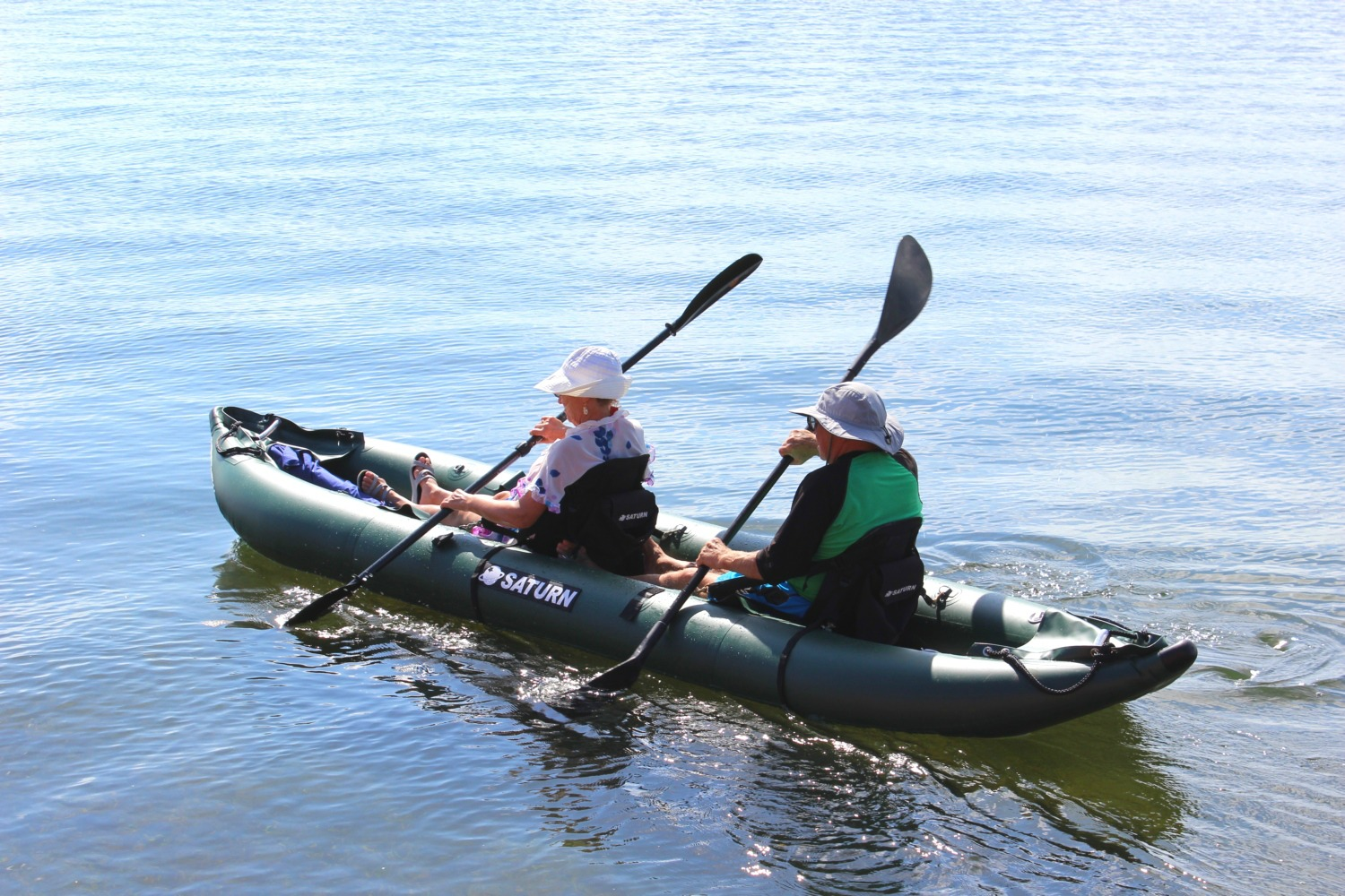 Saturn Ocean Pro Angler Inflatable Fishing Kayaks On Sale