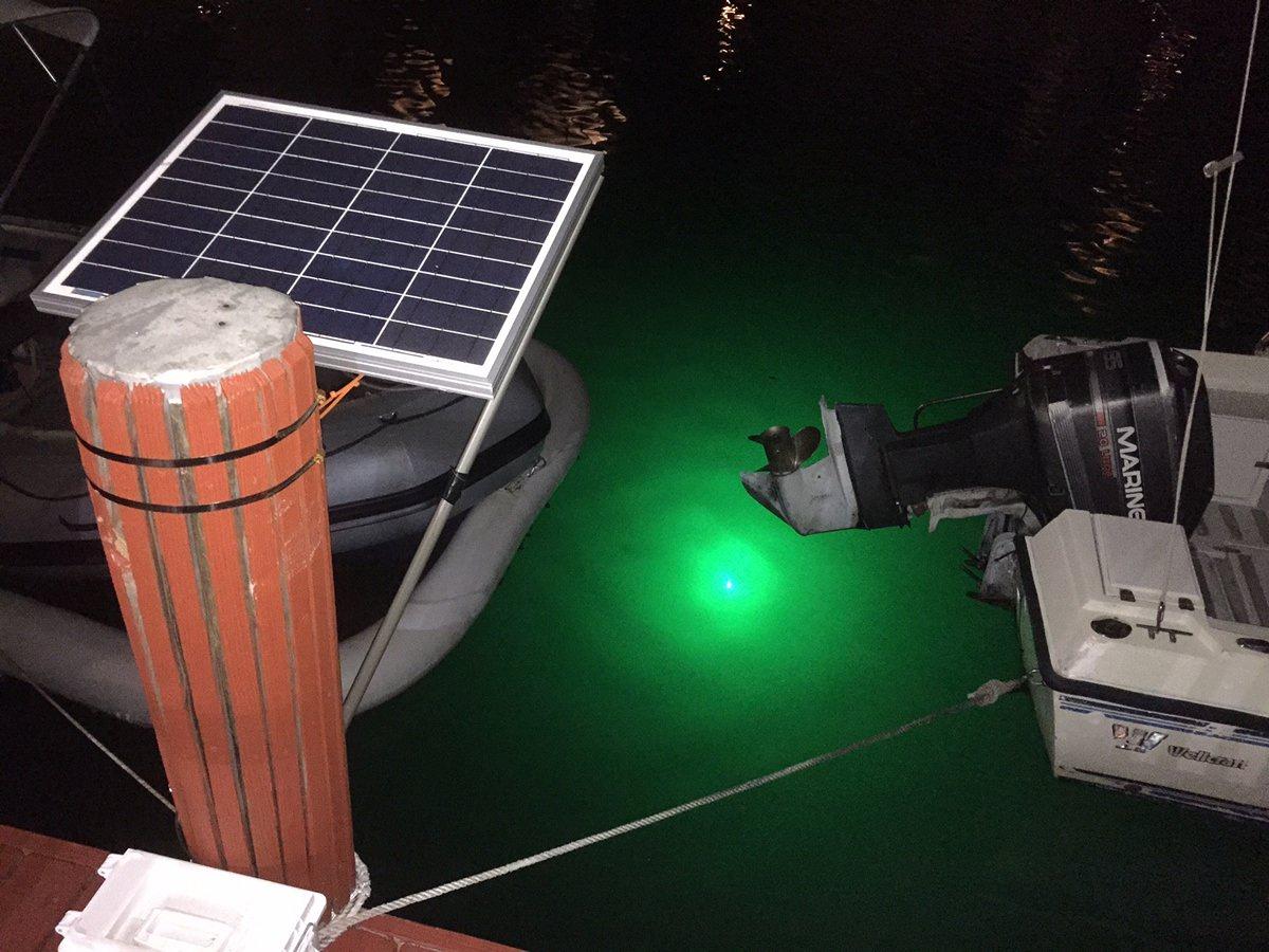 30w underwater fishing led light 12 24v for Green fishing lights
