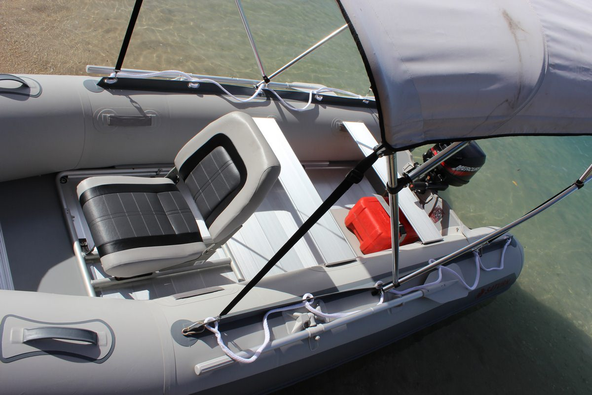 how to make a seat for an inflatable boat